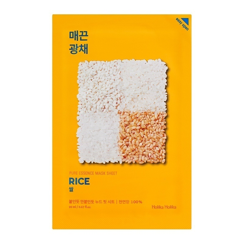 Holika Holika - Pure Essence Mask Sheet Rice
