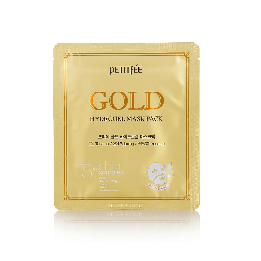 petitfee_gold_hydrogel_mask_pack